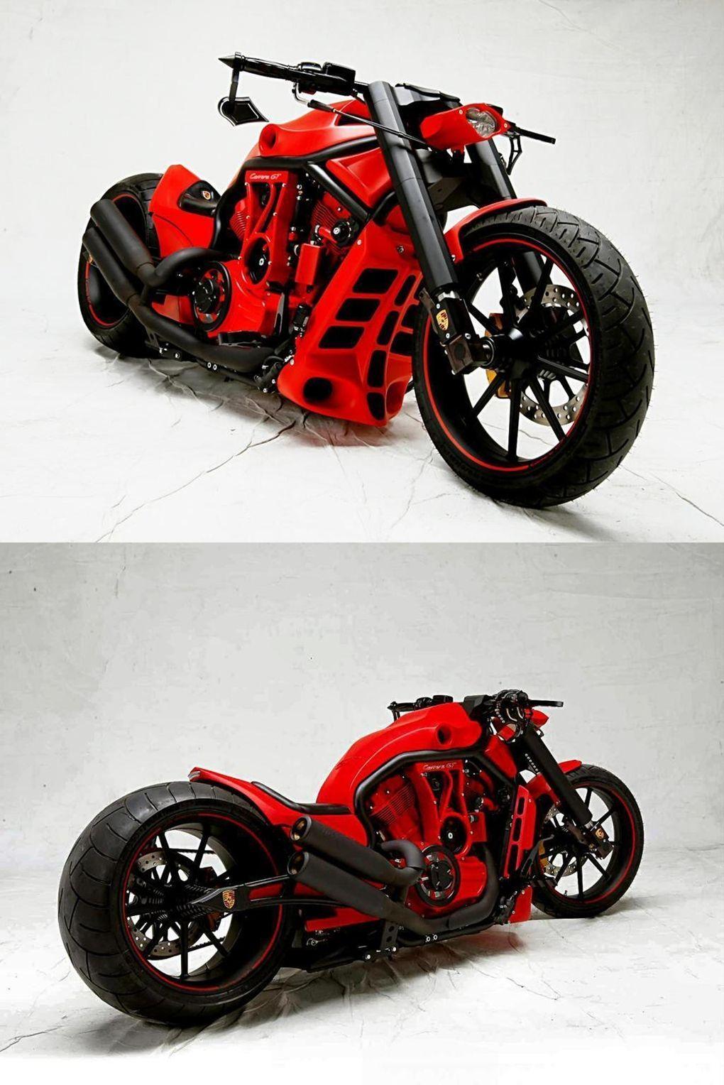 PORSCHE CUSTOM CHOPPER motorcycles