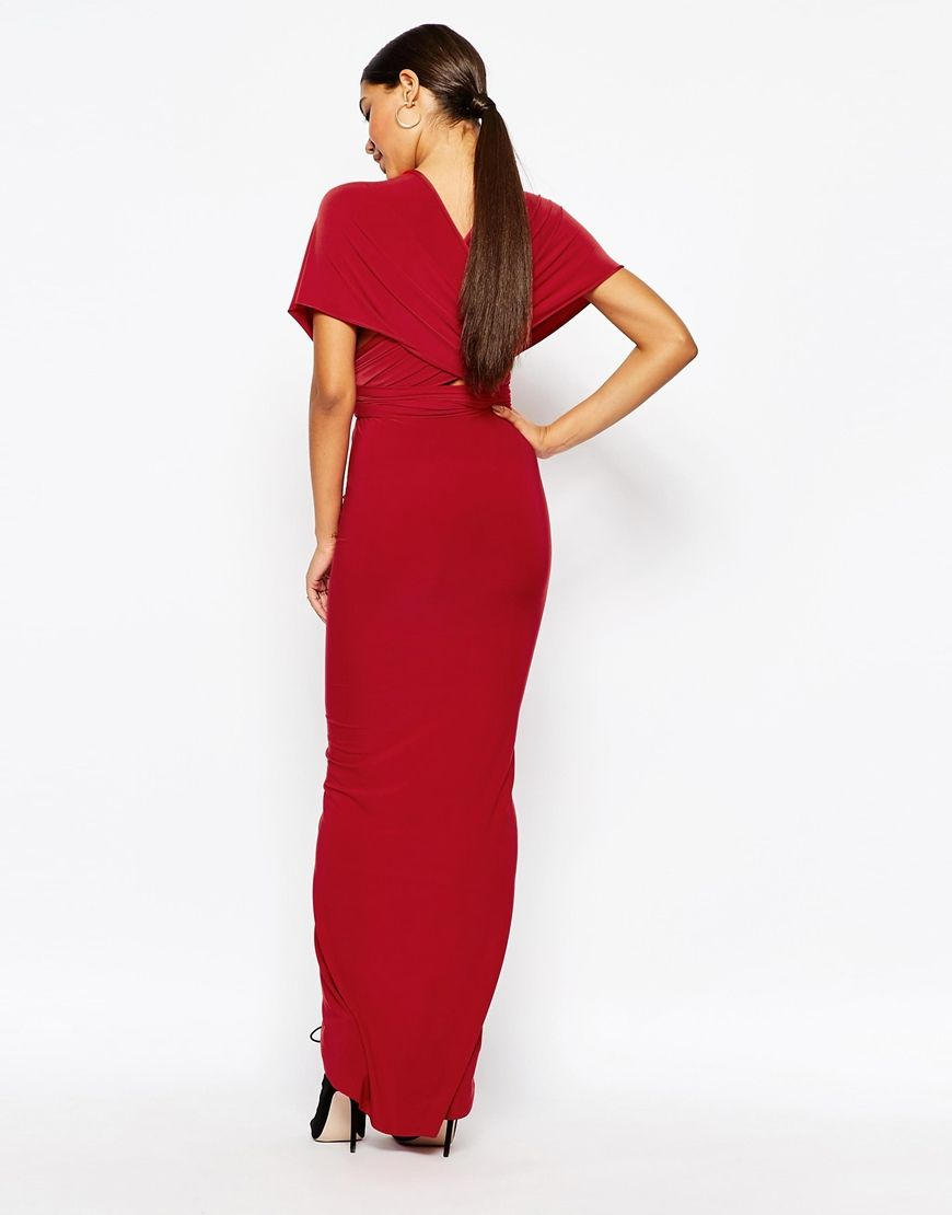 Image 4 ofClub L MULTIWAY Club Dress with Ruched Skirt