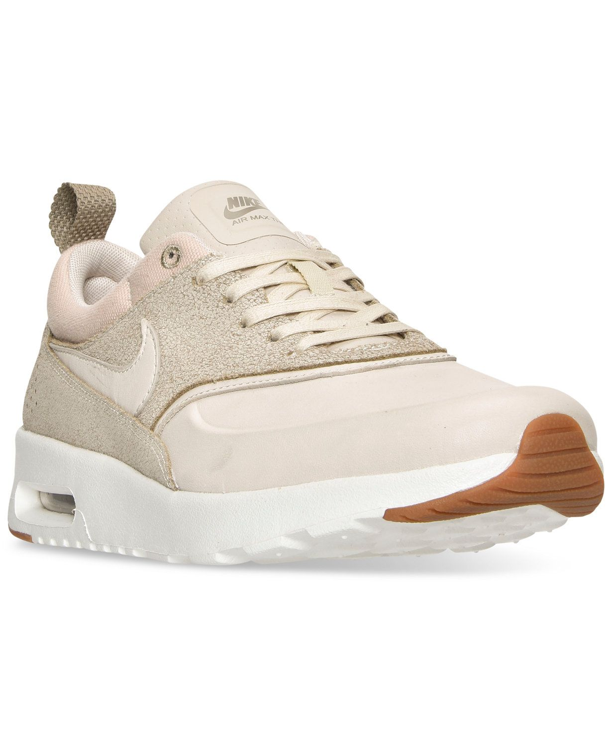 purchase cheap d1a46 e4ddd Nike Women s Air Max Thea Premium Running Sneakers from Finish Line    macys.com