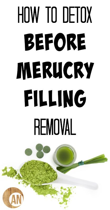 How To Detox Before Mercury Filling Removal - Ancestral Nutrition