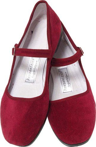 Burgundy Velvet Mary Jane Chinese Shoes Size 35 Pandamerica Online Shopping click on Amazon here http://www.amazon.com/dp/B000A1GFN0/ref=cm_sw_r_pi_dp_2bLNtb0JC5R78ZF7