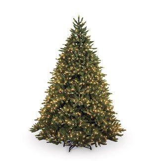 Pre Lit Christmas Tree 7 5 Ft 1000 Lights Voted Best 100 South Salem Pre Lit Christmas Tree Best Artificial Christmas Trees Balsam Hill Christmas Tree