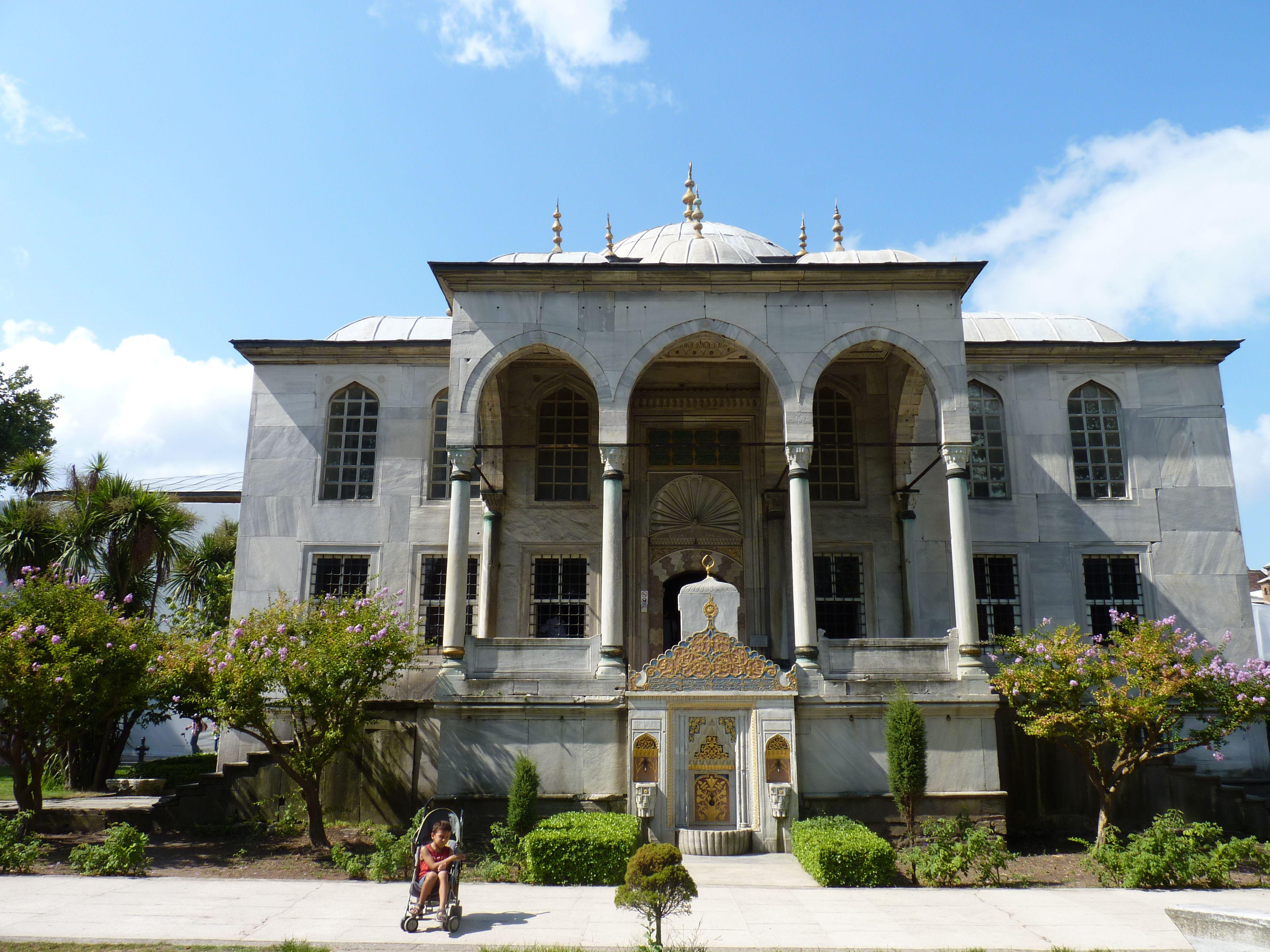 Estambul. Palacio de Topkapi. Iglesia de Santa Irene.