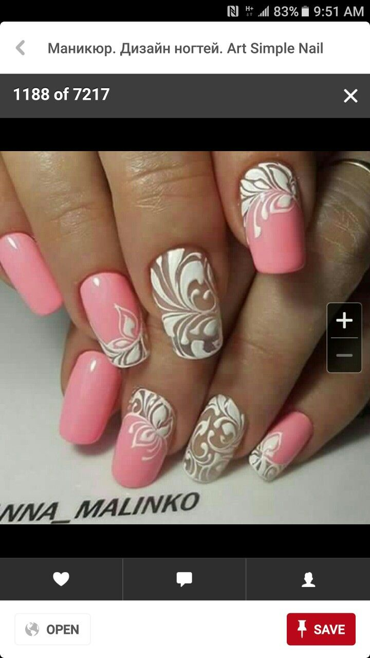 Discover Ideas About White Nail Art