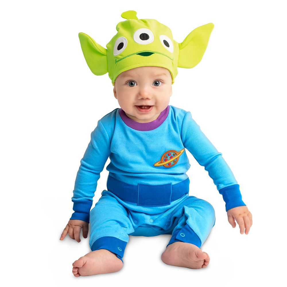 Toy Story Alien Stretchie Sleeper And Hat For Baby Shopdisney