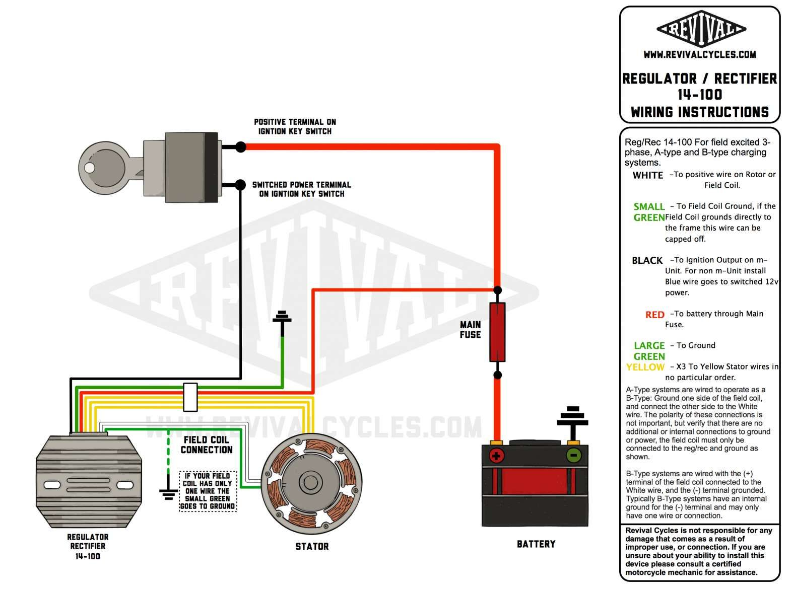 15  Motorcycle Regulator Rectifier Wiring Diagram