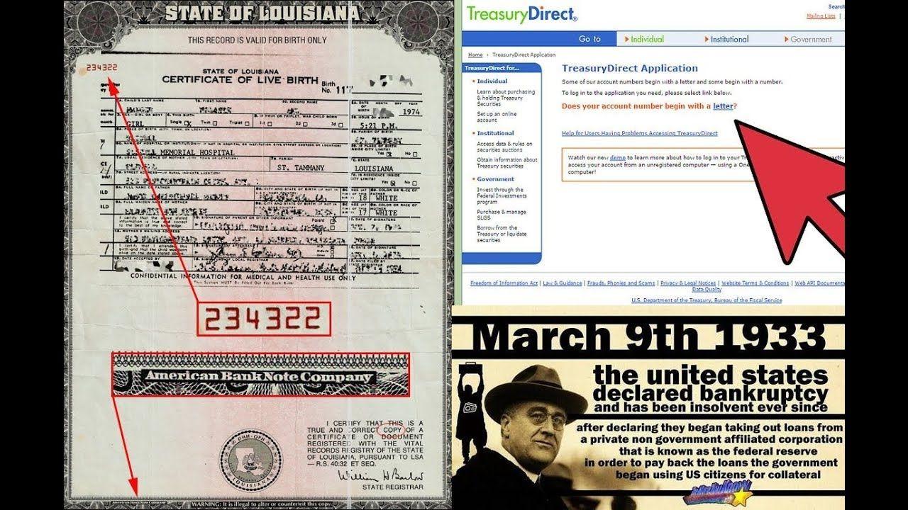 Your Treasury Direct Account ( TDA) Form 5444 E , & A proper