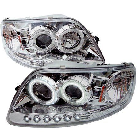 For 1998 2001 Ford Explorer Halo Led Projector Headlights Tail Lamp Head Lights Camionetas Autos Compras