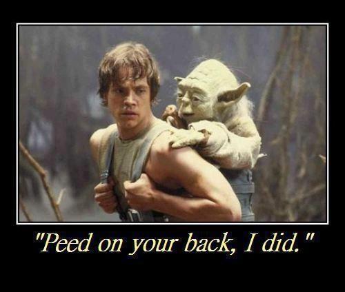 Yoda ) Benny Explain a film plot badly, Star wars