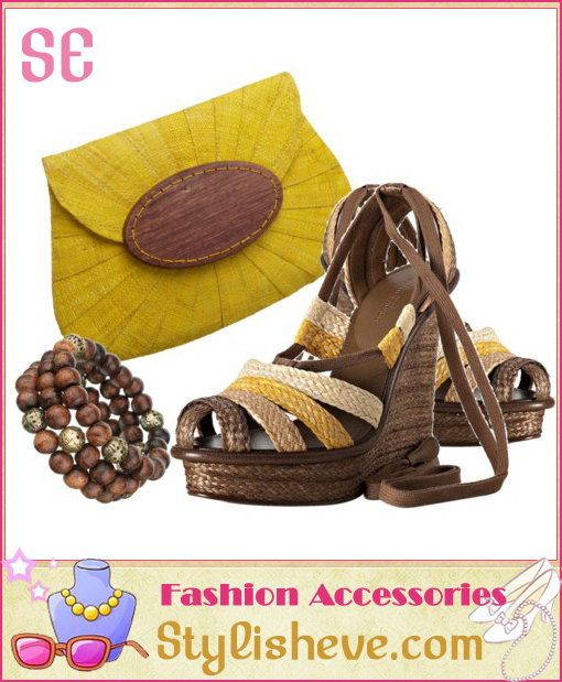 Clutch Bags Matched With Casual Women's Sandals