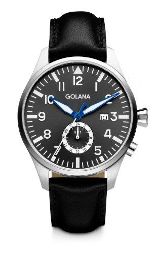 Golana Aero Gmt Men's Quartz Watch with Grey Dial Analogue Display and Black Leather Strap AE500-2 has been published to http://www.discounted-quality-watches.com/2013/05/golana-aero-gmt-mens-quartz-watch-with-grey-dial-analogue-display-and-black-leather-strap-ae500-2/