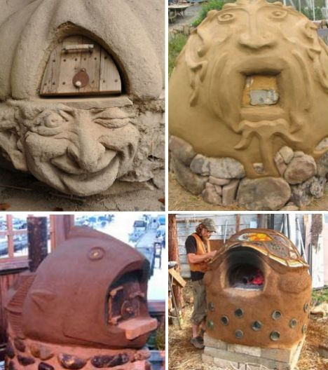Cob creations 18 natural homes pizza ovens more oven for How to make a cob oven
