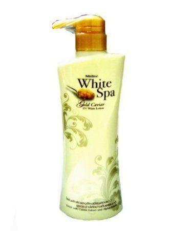 Beauty Set  Mistine White Spa Gold Caviar Whitening Lotion Reduce Fine Lines  Wrinkles 400ml Get Free Facial Hair Epicare Spring A1 Remover *** Click image to review more details.(This is an Amazon affiliate link)