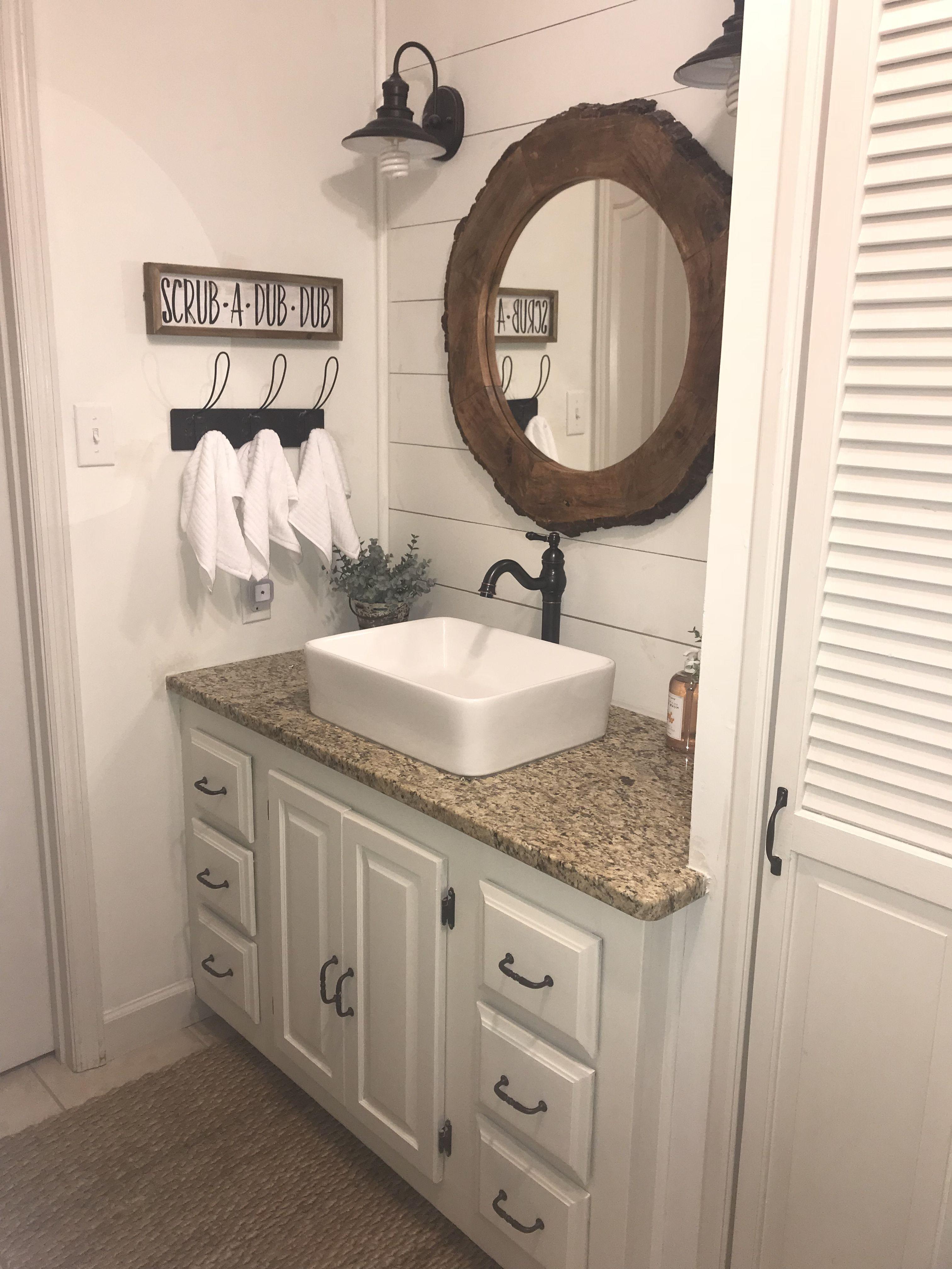 farmhouse bathroom remodel in 2019 diy bathroom remodel on bathroom renovation ideas diy id=23910