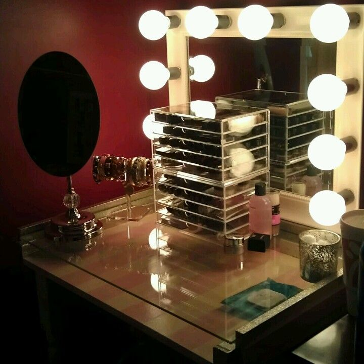 my vanity patrick built it from scratch even the vanity mirror and installed the lights he. Black Bedroom Furniture Sets. Home Design Ideas