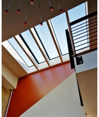 Best An Example Of A More Modern Type Of Stairway Skylight The 640 x 480
