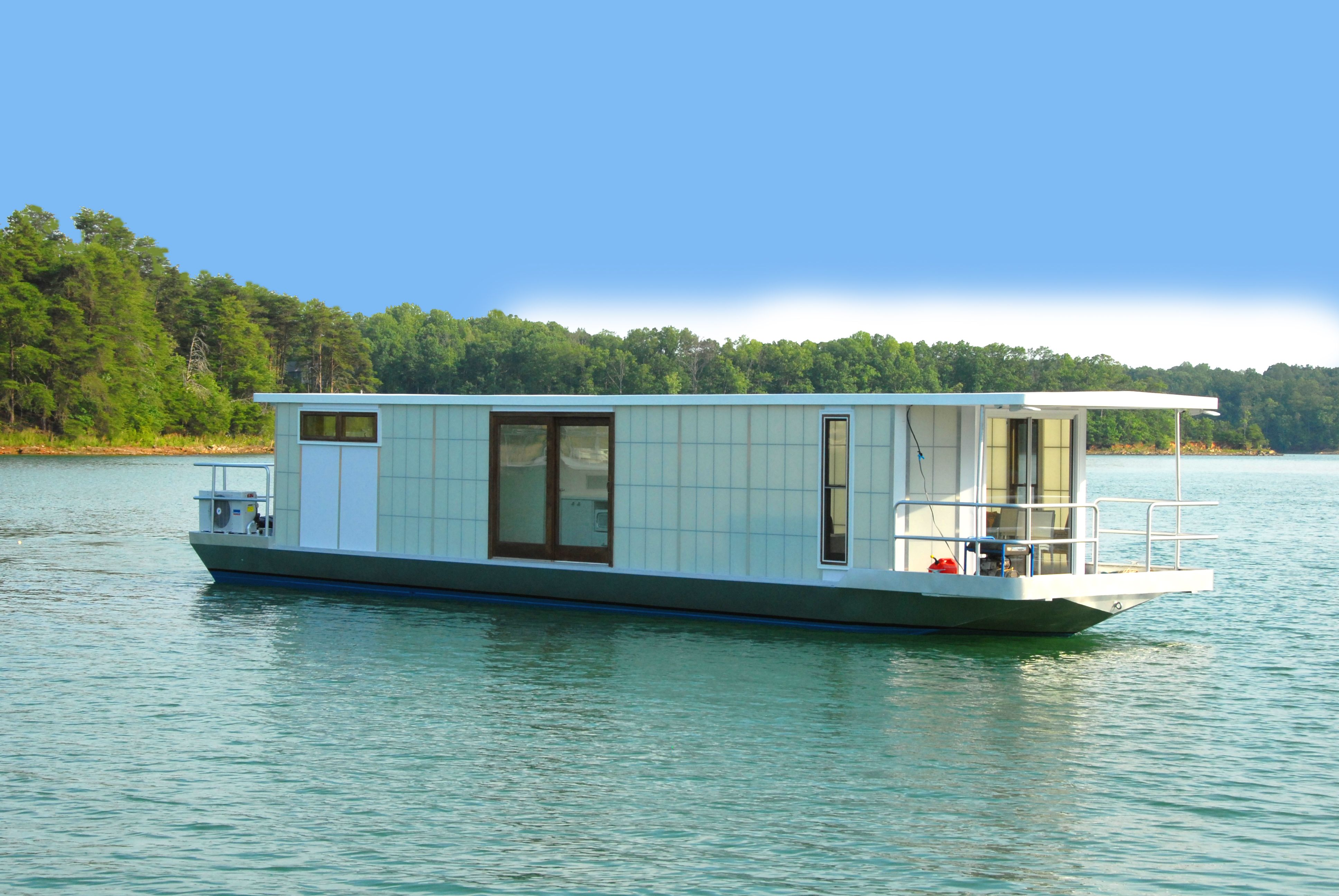 Boat House For Sale Google Search Houseboat Living Floating House House Boat