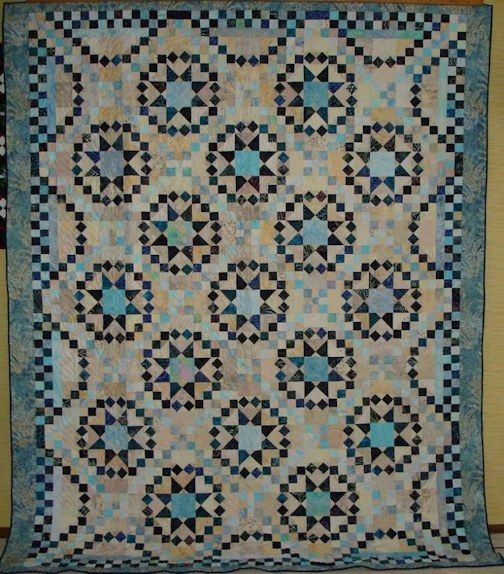 Savannah quilt made from the pattern in Judy Martin's book ... : savannah quilt pattern - Adamdwight.com