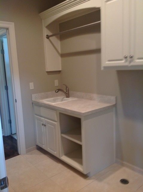 Marvelous Laundry Room Hanging Rod Laundry Room Cabinets