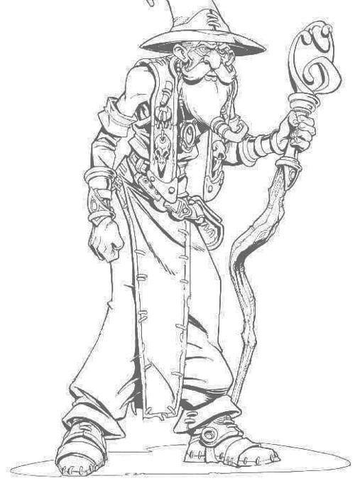 Magicien de Dungeon Keeper 2 J'aimerai connaître le nom de l'artiste.
