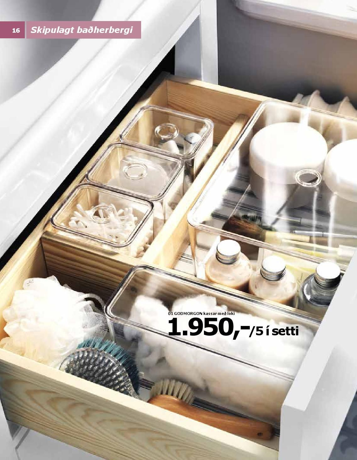 Ikea Badherbergi 2015 Bathroom Organisation Ikea Bathroom Bathroom Drawer Organization