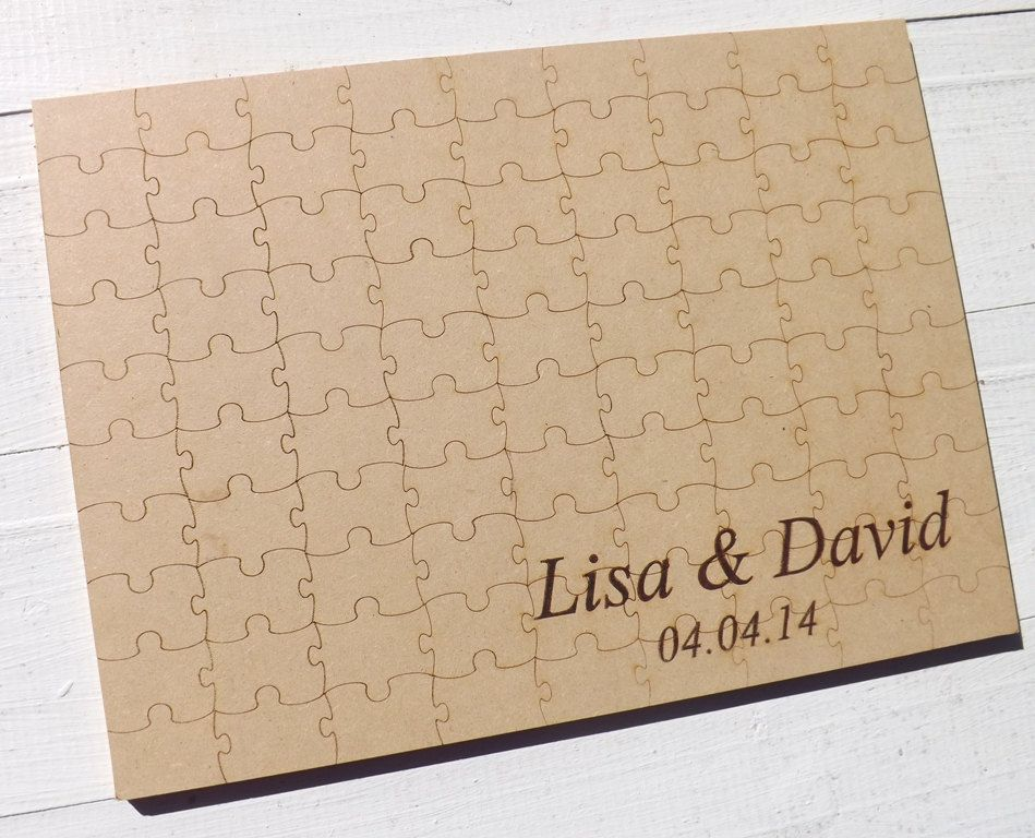 80 Piece Personalized Engraved Wood Puzzle by BVDesignsonline, $40.00