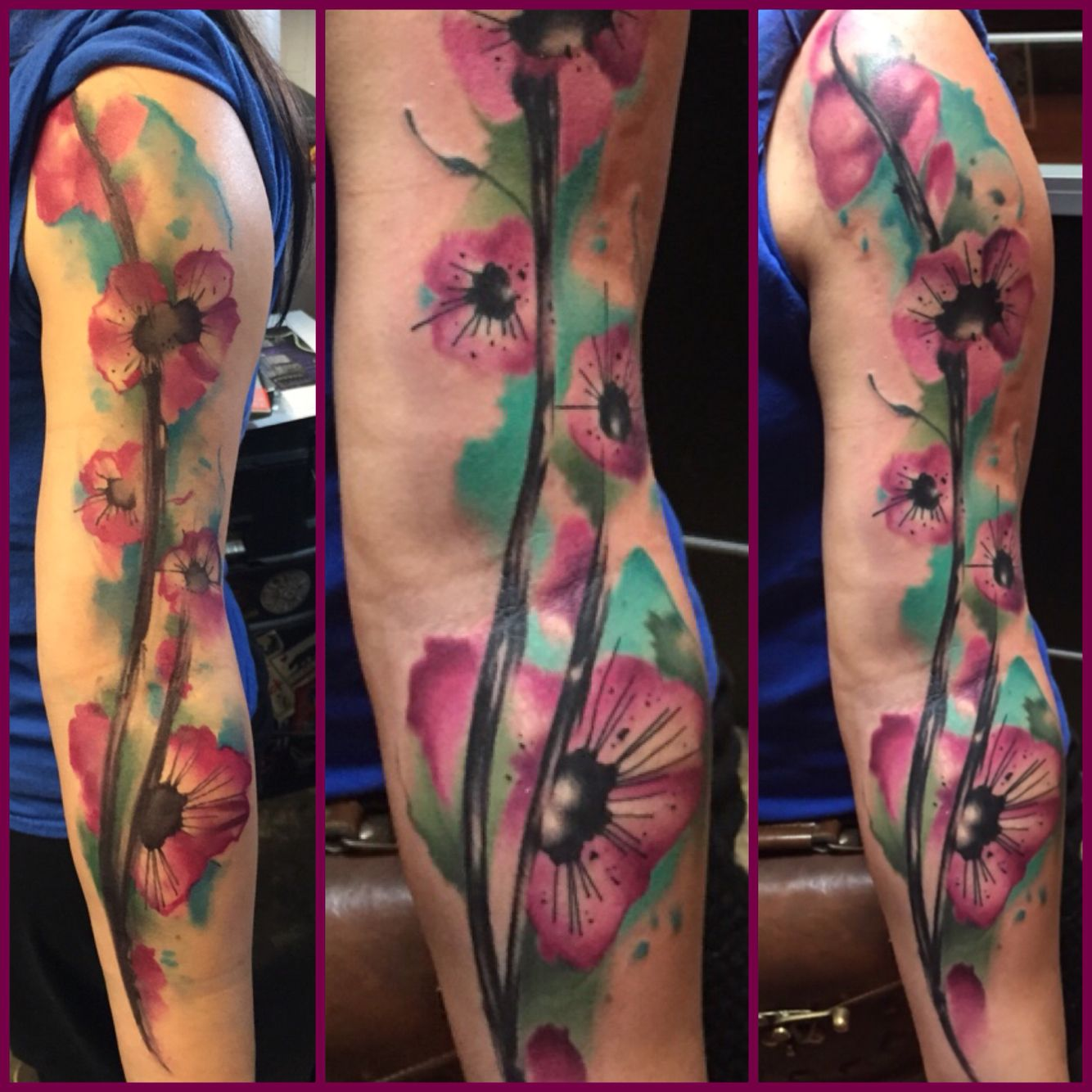 Watercolor tattoo artists in houston texas - Watercolor Tattoo By Elijah Nguyen At Skin Stories Tattoo In