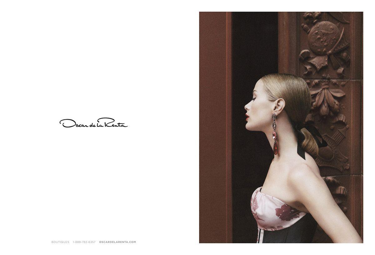 Fashion Copious - Preview Carolyn Murphy for Oscar de la Renta SS 2016 Campaign by David Sims