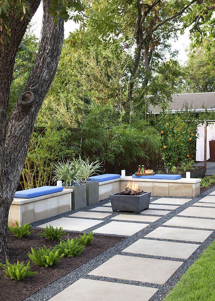 B Jane Gardens Modern Backyard Landscaping Modern Landscaping Modern Backyard