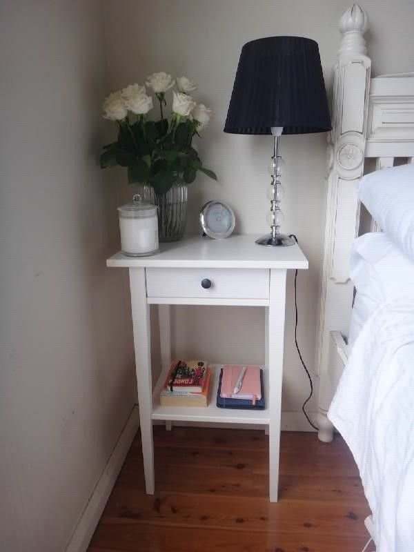 ikea hemnes nightstand homefurniturez club side tables bedroom night stands black red room ideas