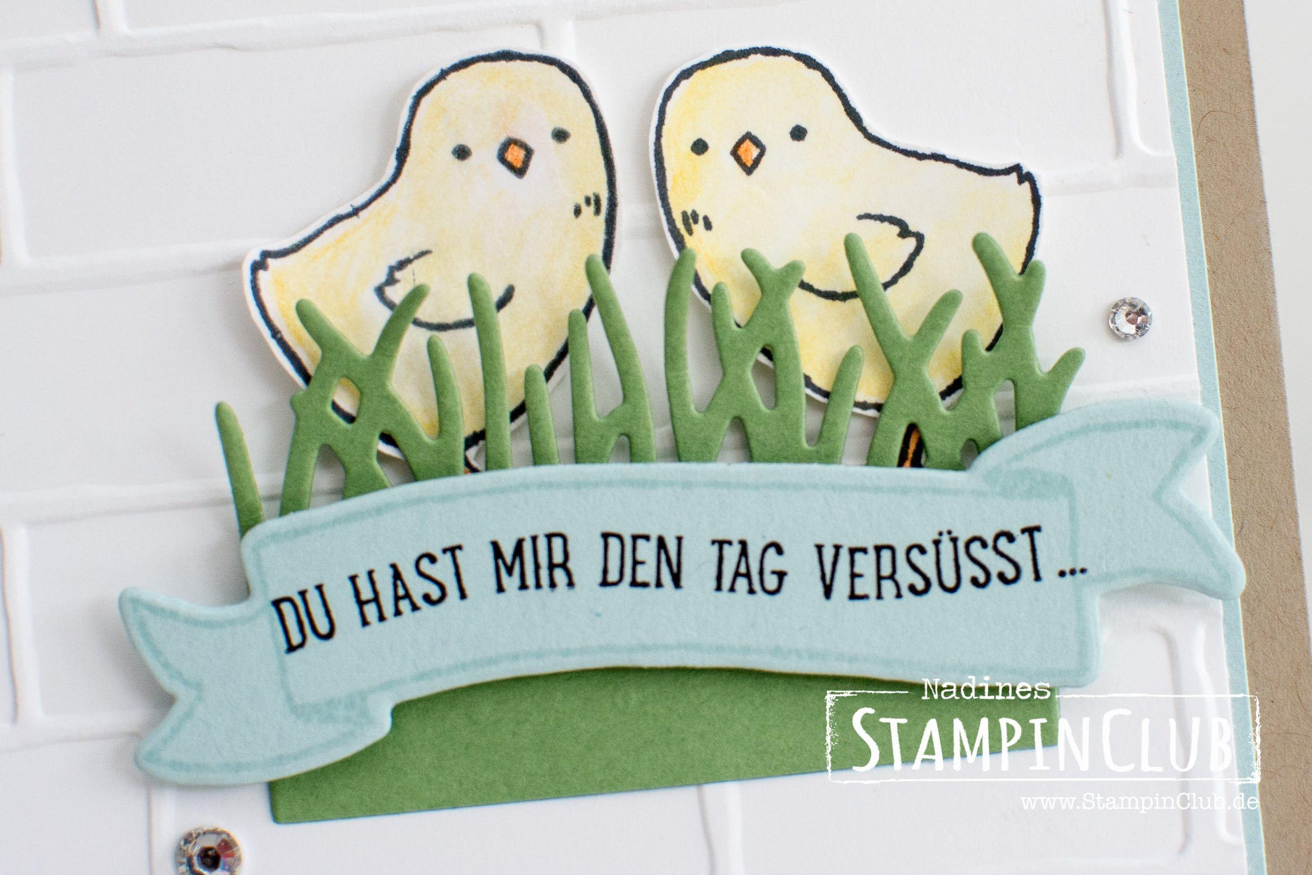 Spiegeltechnik - Little Cuties - StampinClub
