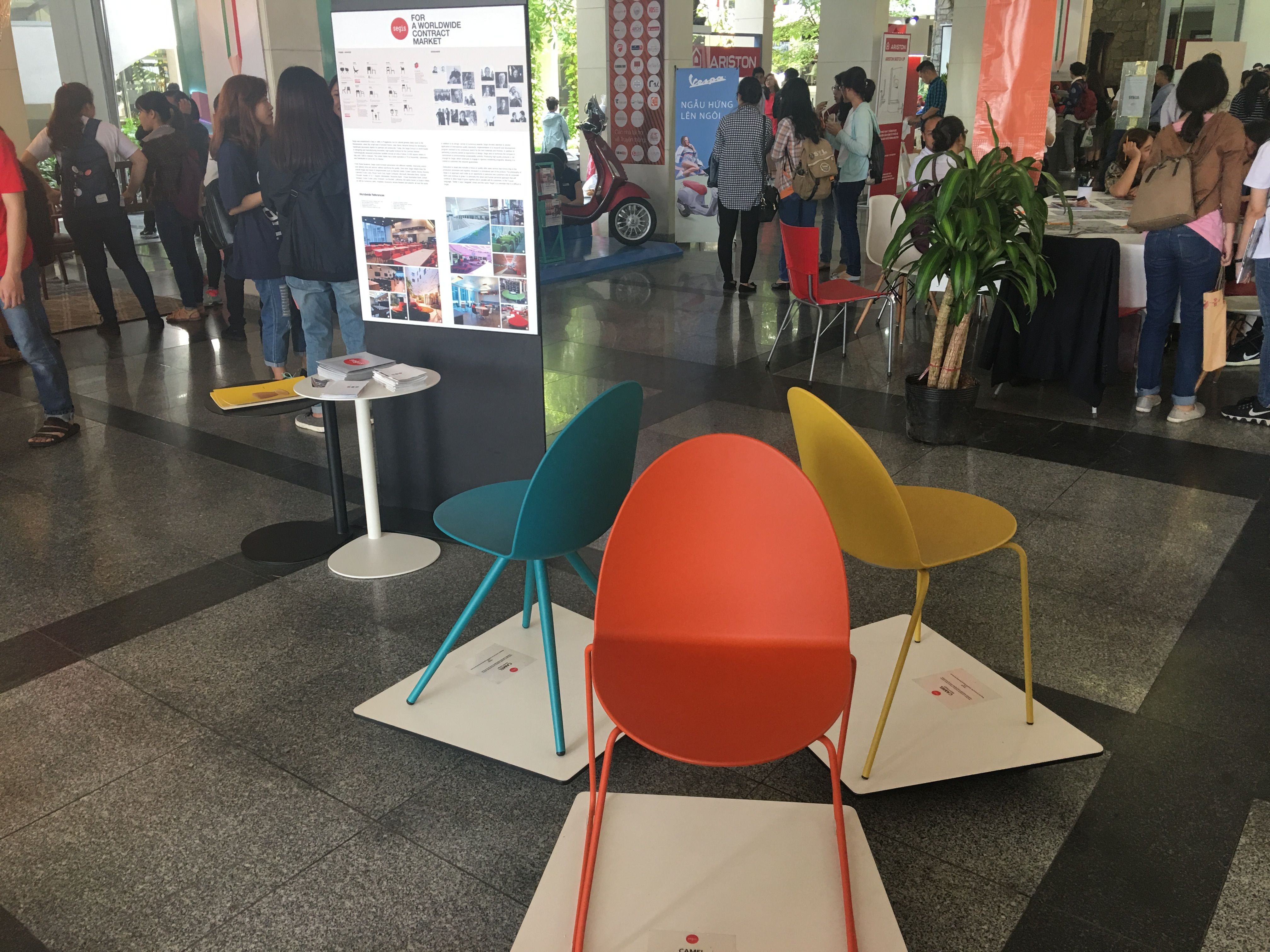 Segis Sedie ~ Colorful seatings by bartoli design for segis ideal for contract