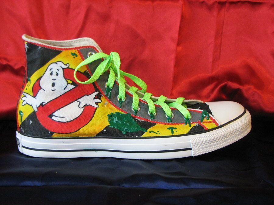 Ghostbuster Chucks | Converse chuck taylor high top sneaker