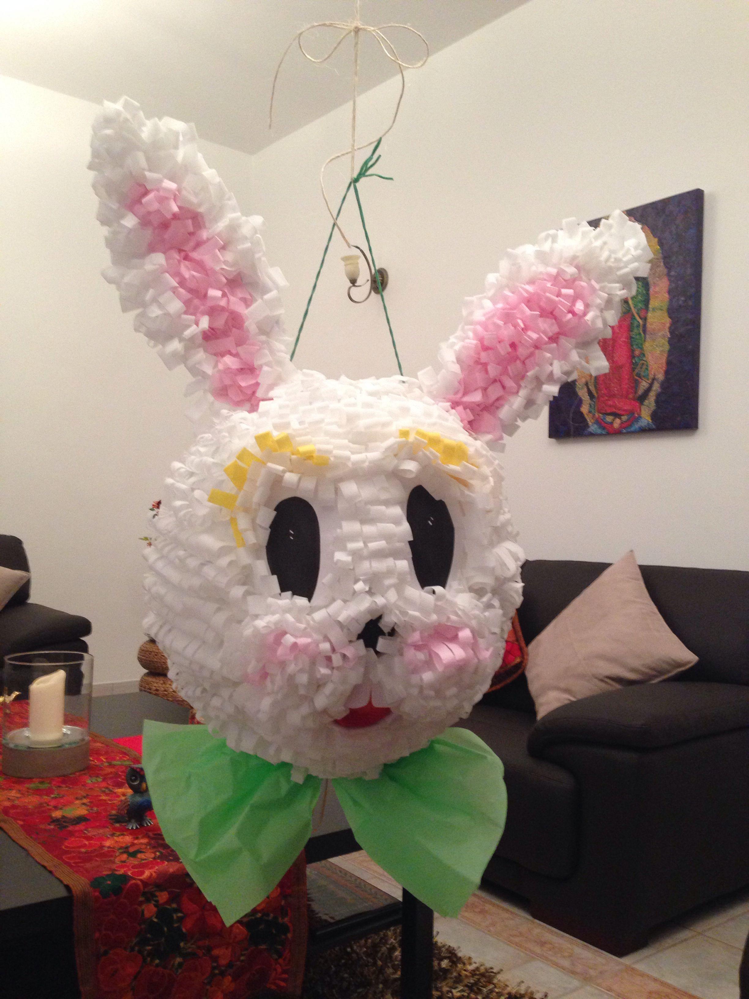 Piñata Conejo de Pascua