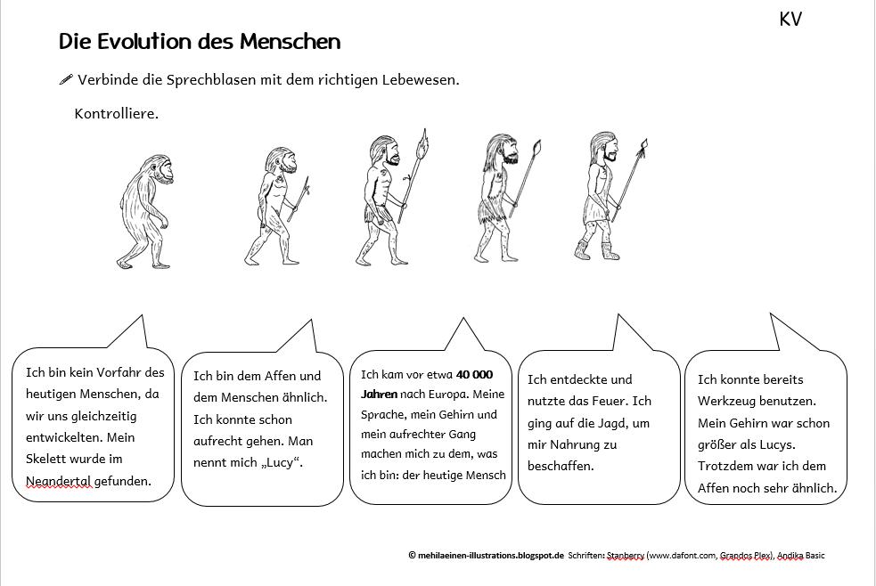 Unterrichtsmaterial, Illustrationen und mehr zum Thema Steinzeit ...