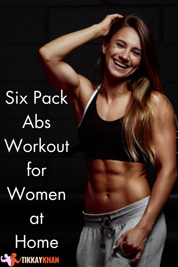 Abs to six pack womens get how fitness Best ways