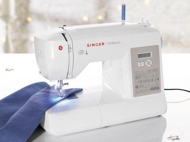 Aparatos y máquinas - Máquina de coser Singer Brilliance