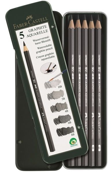 How To Draw With Aquarelle Graphite Pencils Art Basics Pencil