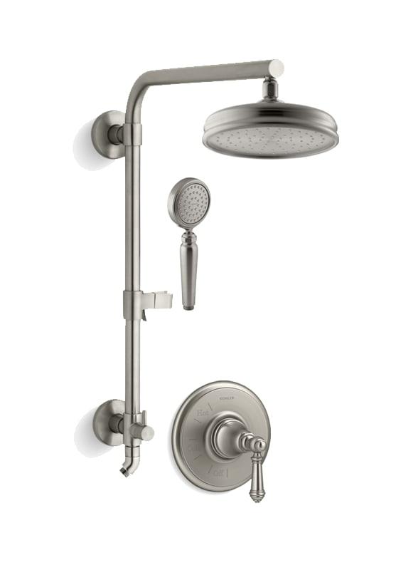 Kohler Artifacts Hydrorail Custom Shower System Custom Shower