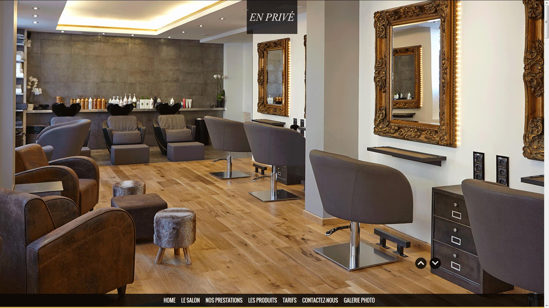 site-vitrine-salon-de-coiffure.png (1920×1080) | Hair & Beauty ...