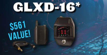 Shure GLXD16 Digital Guitar Pedal Bodypack Giveaway