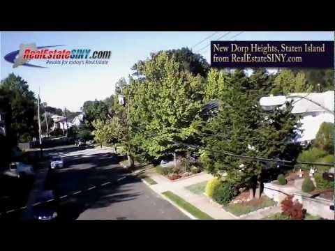 New Dorp Heights, Staten Island from above | RealEstateSINY.com