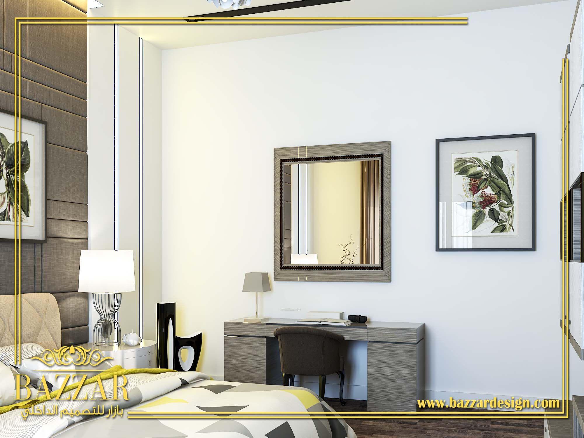 غرفه نوم بالون البيج مع ارضيات باركيه واضاءه عاليه وتصميم مميز وعصري Beige Bedroom With Parquet Flooring High Light Distinctive A Home Decor Home Furniture
