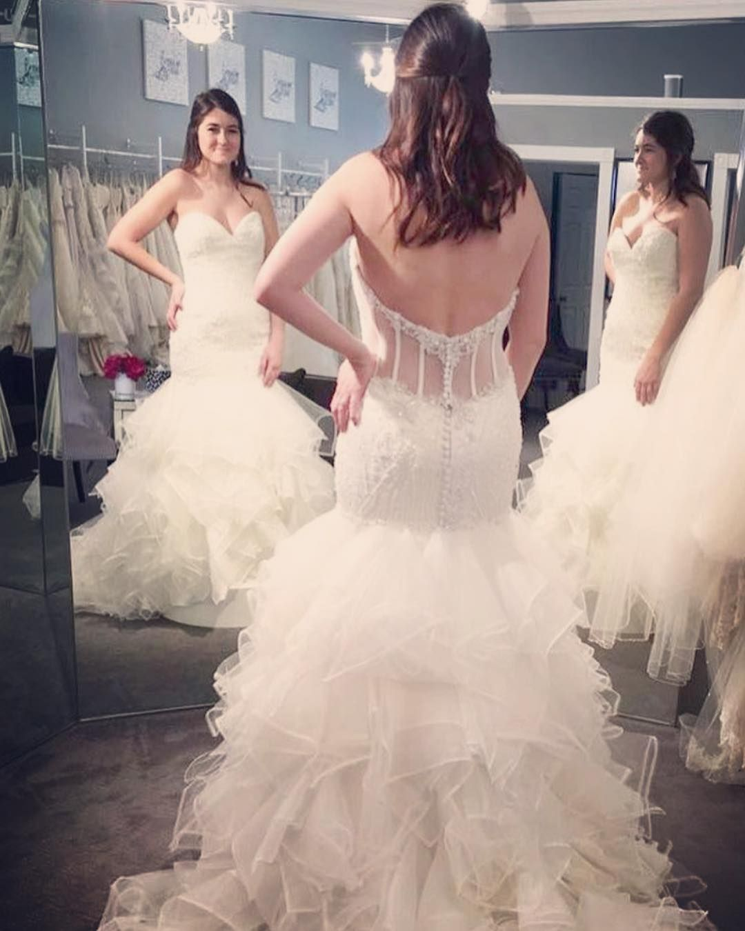 It May Take You Appointment After Appointment And Salon After Salon Or It May Be The First One You Try On Every Bride With Images Bridal Dresses Dresses Special Dresses