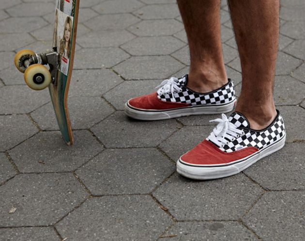 "Supreme x VANS ""Authentic"" – Corduroy Checker 