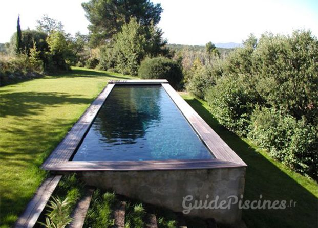 Couloir de nage pool edging in 2018 pinterest piscine couloir de nage and couloir - Toit de piscine hors sol ...