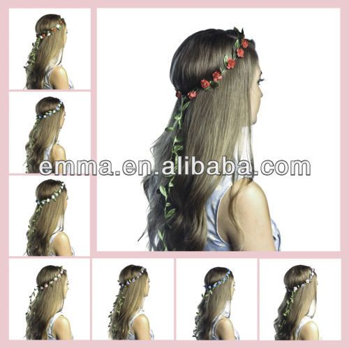 2015 Hot Sales Boho Ladies Floral Flower Festival Wedding Garland Forehead Hair Head Band H060 Photo, Detailed about 2015 Hot Sales Boho Ladies Floral Flower Festival Wedding Garland Forehead Hair Head Band H060 Picture on Alibaba.com.