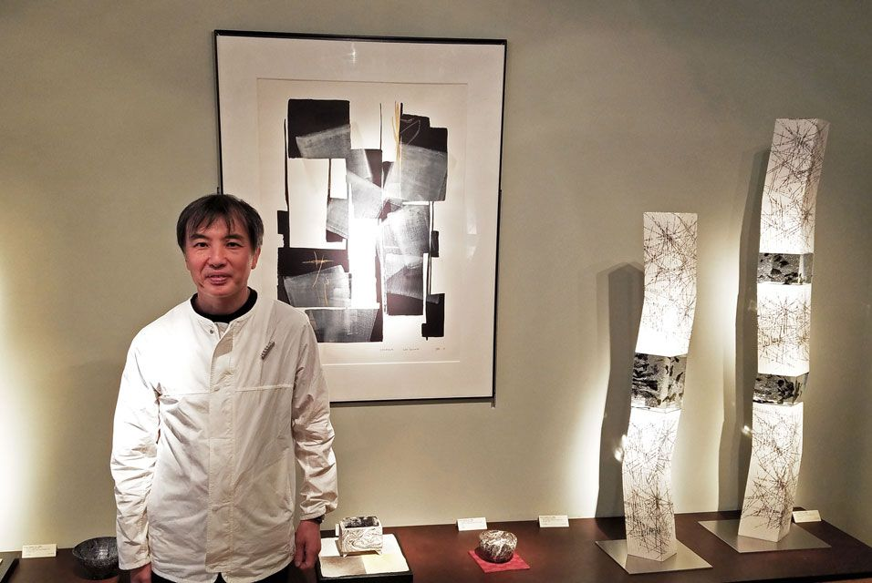 Exhibition of forty new works by Kondo Takahiro opens at Joan B Mirviss Ltd