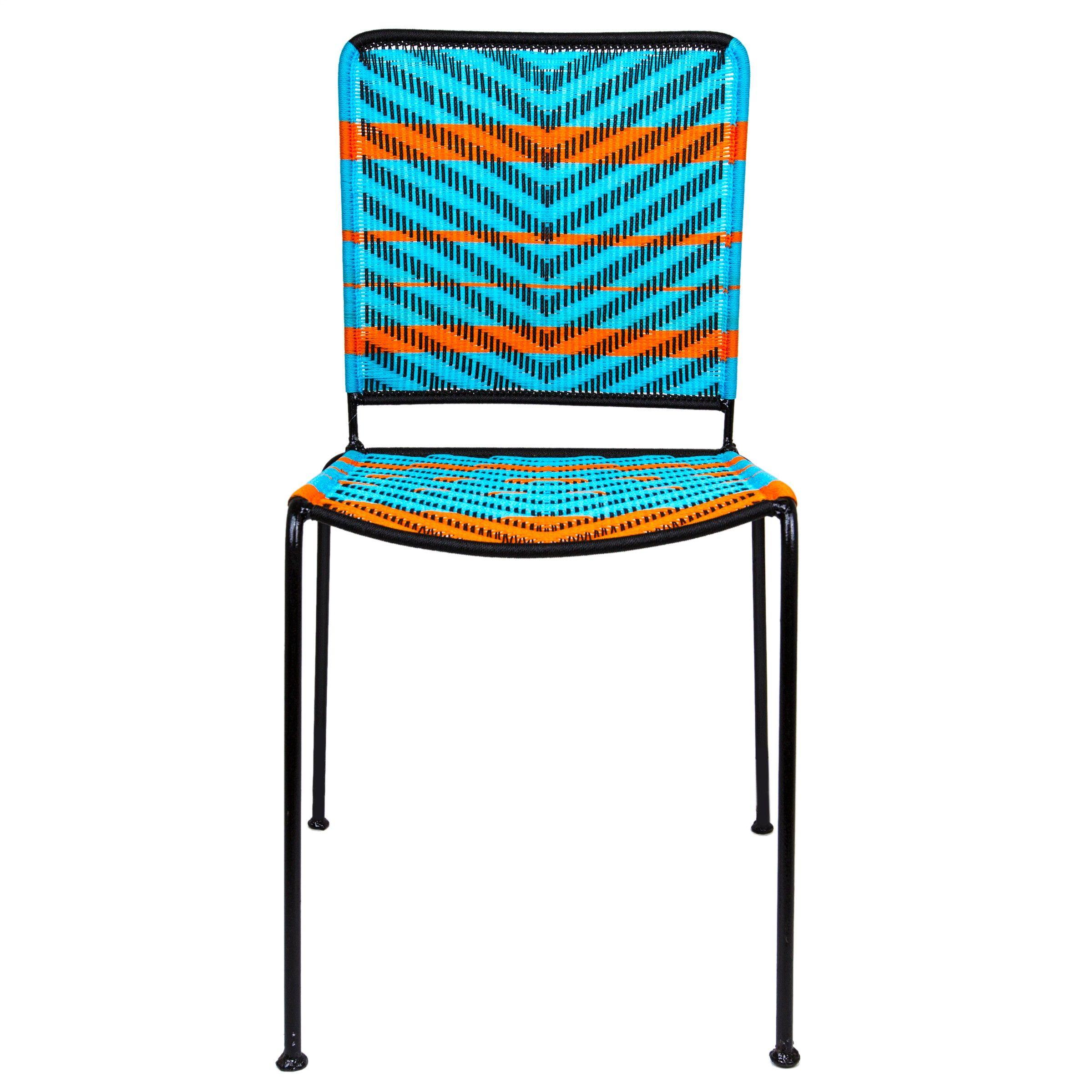 woven metal furniture. Orange \u0026 Turquoise Woven Artisan Metal Chair Furniture A