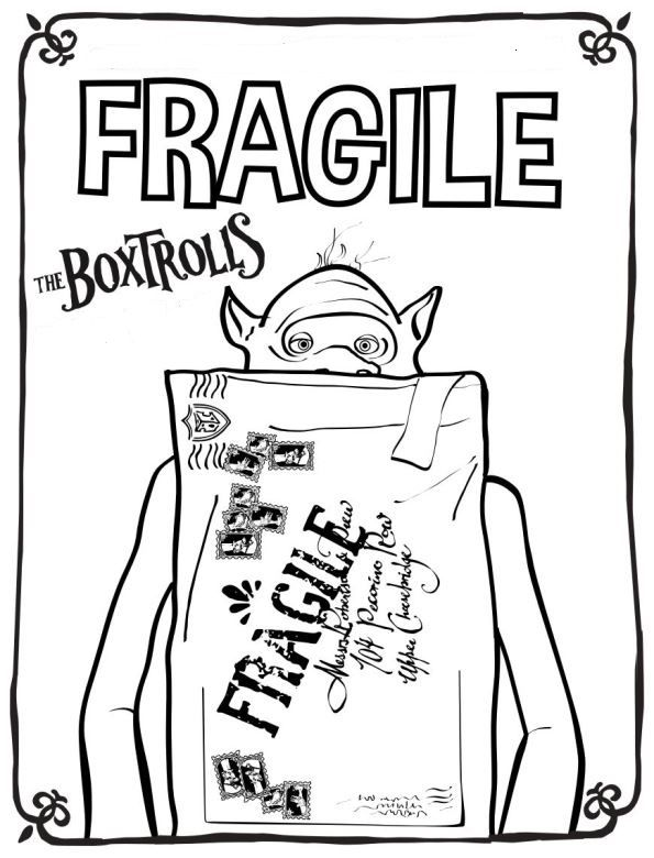 box troll | halloween | Pinterest